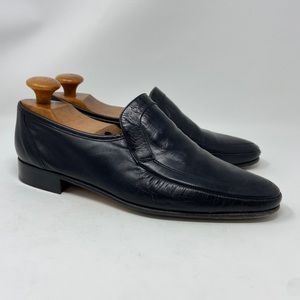 Grenson True Moccasin Leather Loafers